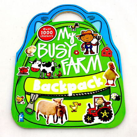 Backpack Sticker Book
